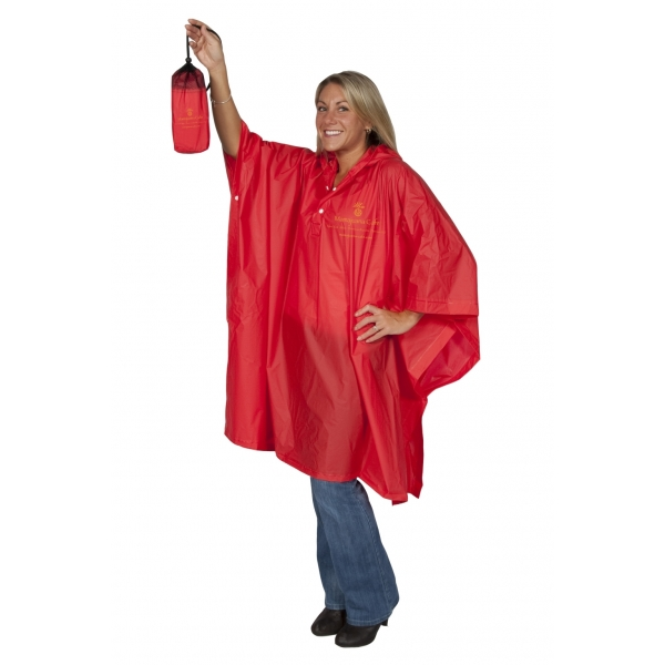 Custom printed core ponchos, 2000 - 12 Colors
