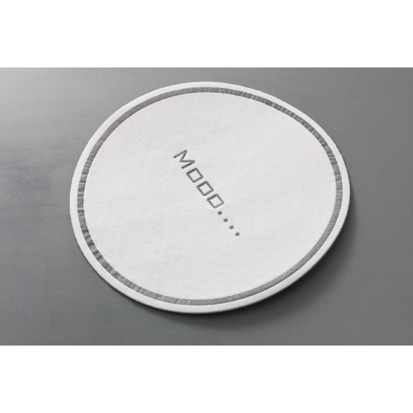 Cellulose Coaster - PE Foil Backing (5.5 inch)