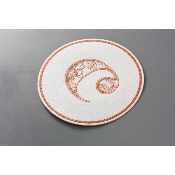 Cellulose Coaster - PE Foil Backing (4.0 inch)