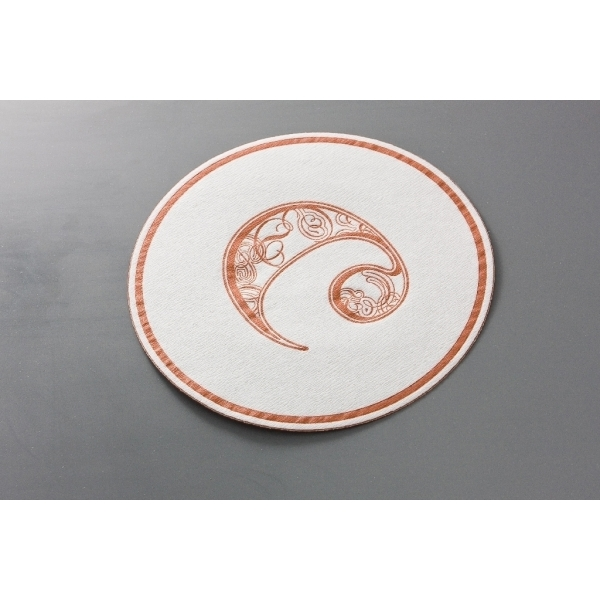 100mm Airlaid Coasters (with wax)