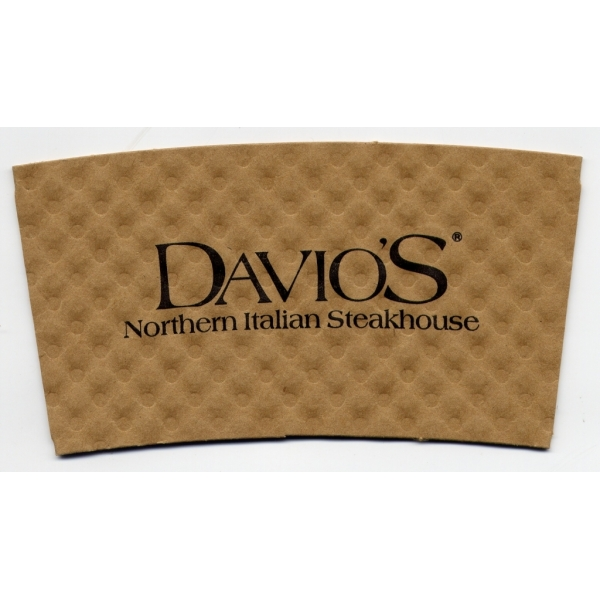 Coffee Sleeve - Natural Kraft Paper (Large Quantity)