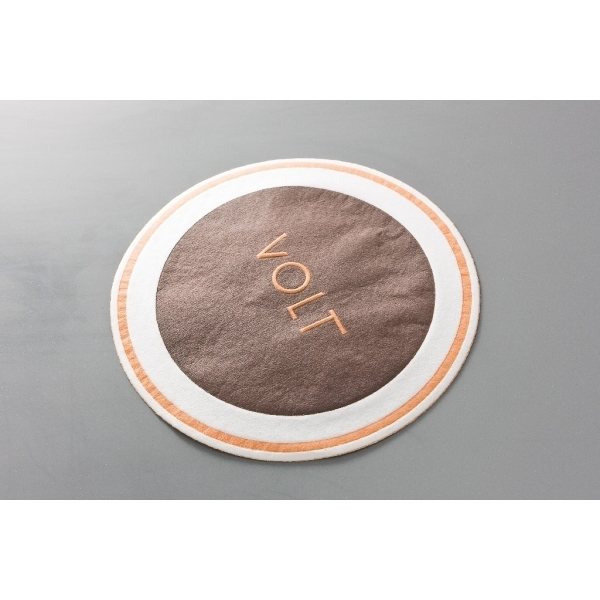 80mm Airlaid Coasters (with wax)