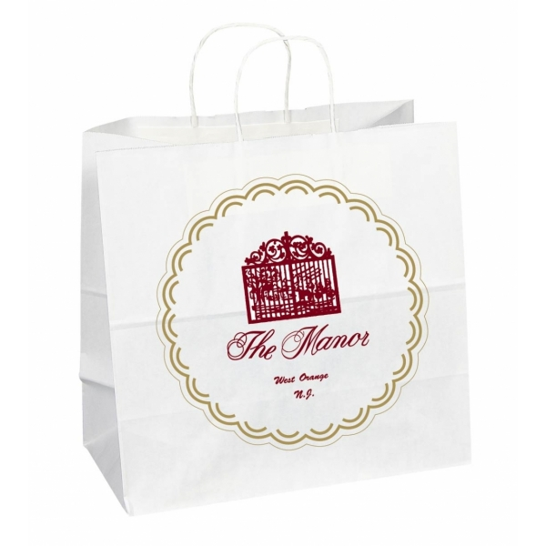 MEDIUM Square Custom Shopping Bag