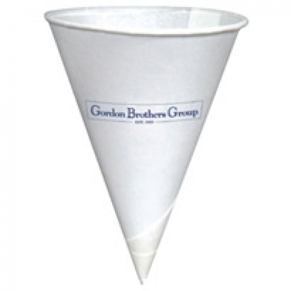 4 oz. Paper Cone with Rolled Rim